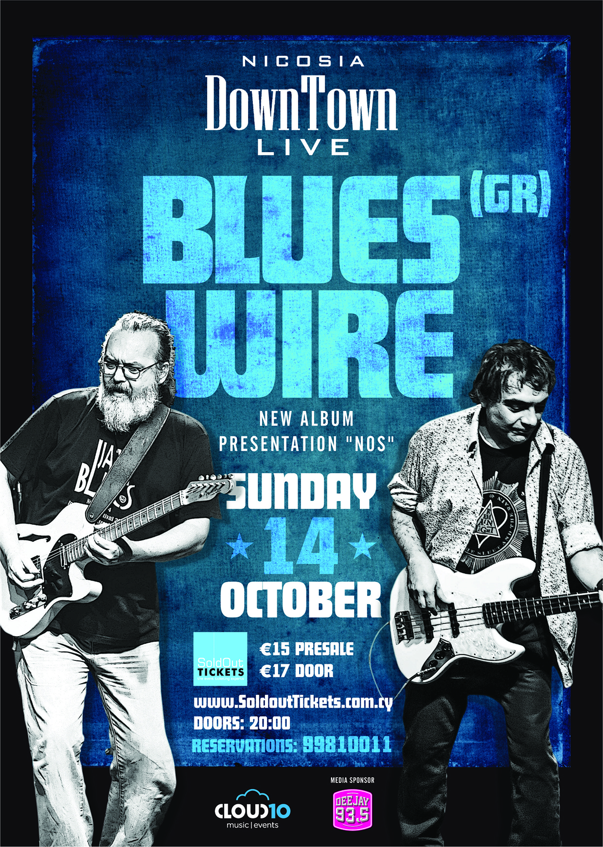 Blues Wire (GR) at Downtown Live!