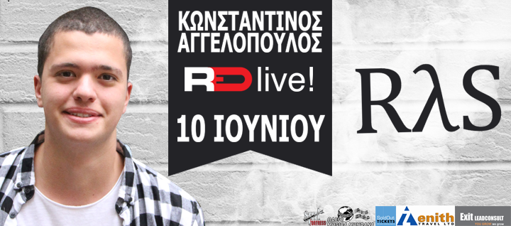 CONSTANTINOS AGGELOPOULOS & RλS Live@RED